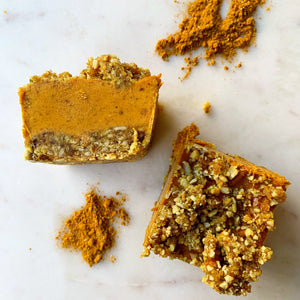 Golden Pumpkin Spice Power Bites