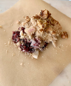 Sleepy Summer Cherry Crumble