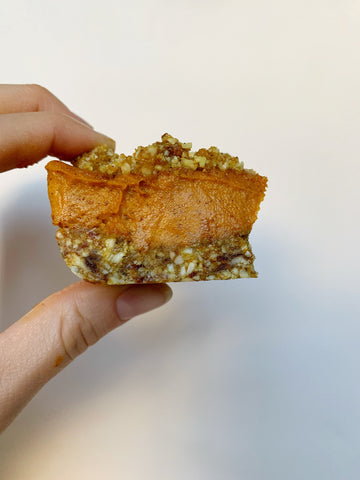 Golden Pumpkin Spice Energy Bars