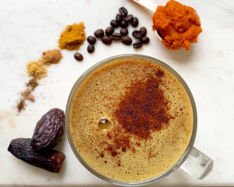 Anti-Inflammatory Pumpkin Spice Latte with Turmeric