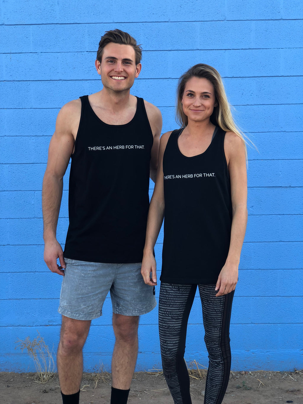 """There's an Herb for That."" Unisex Tank"