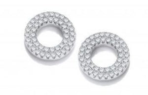 Double row circle studs