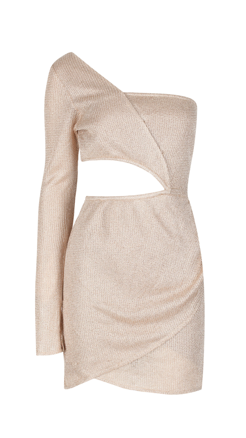 Twenty-Seven/11, Gold Knit Party Dress