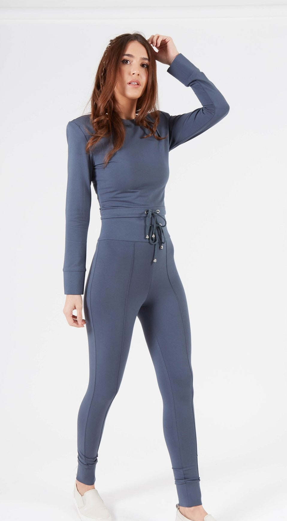 Amur Petrol Blue Highwaisted Loungewear