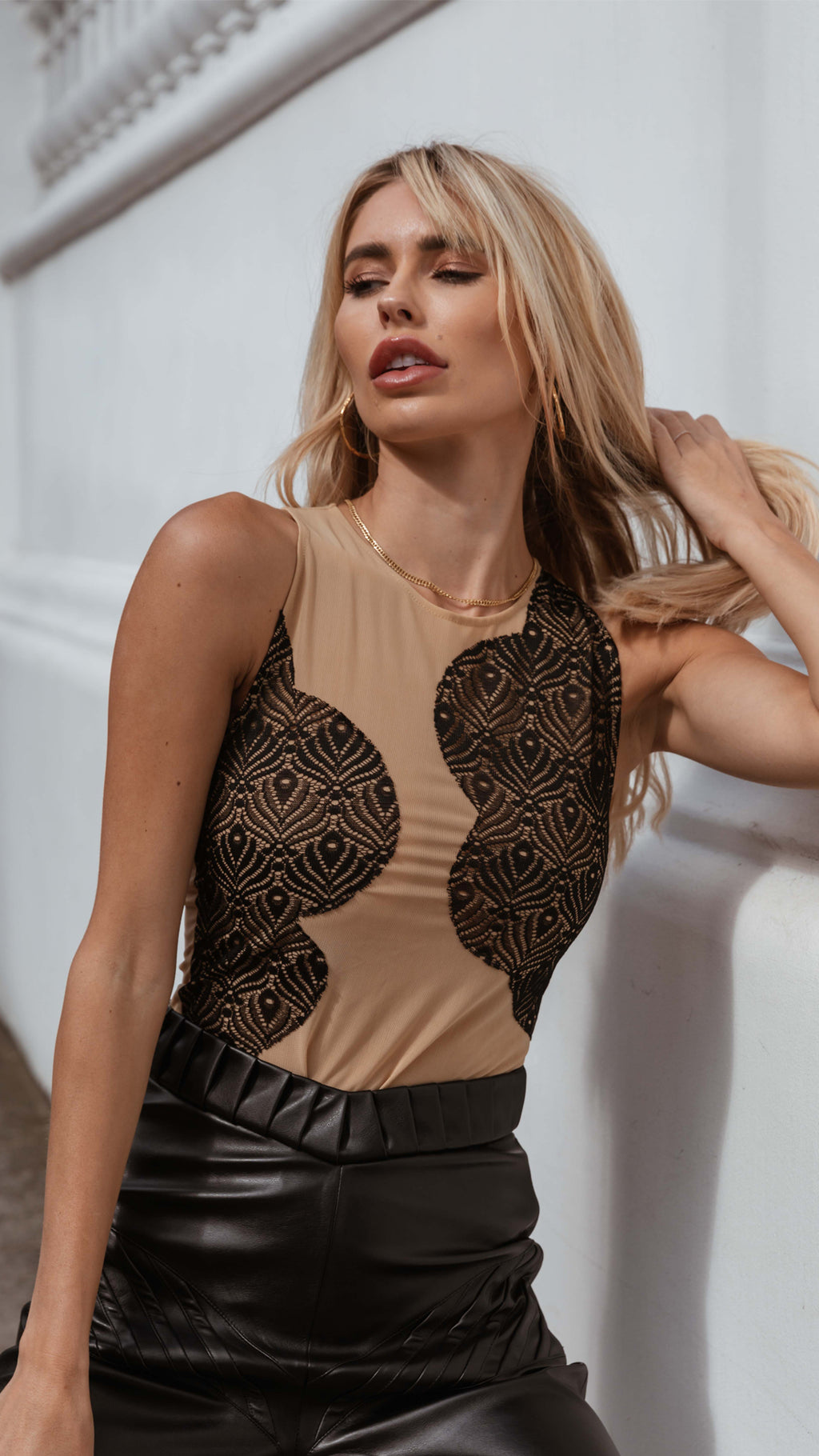 Damask, Floral Summer Dress