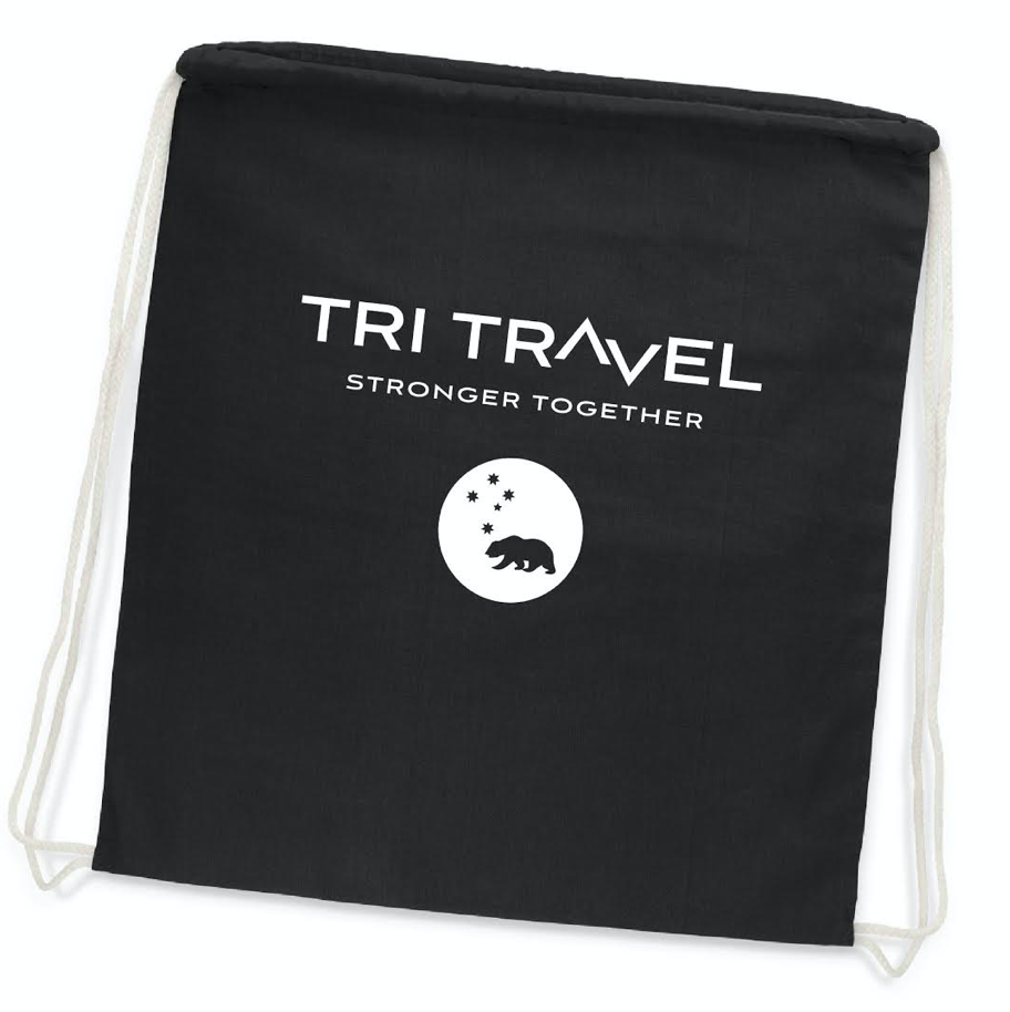 Tri Travel 2020 Drawstring bag