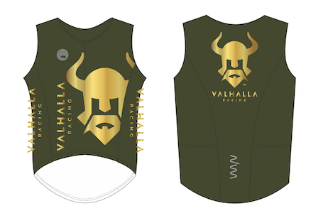 Valhalla 2021 sleeveless tri top - men's