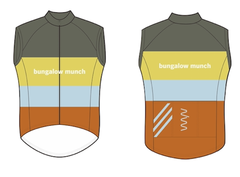Bungalow Munch windstopper gilet (third edition) - unisex