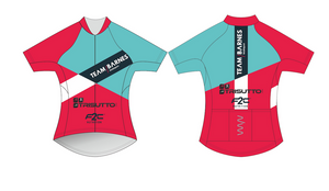 TEAM BARNES premium cycling jersey - women's