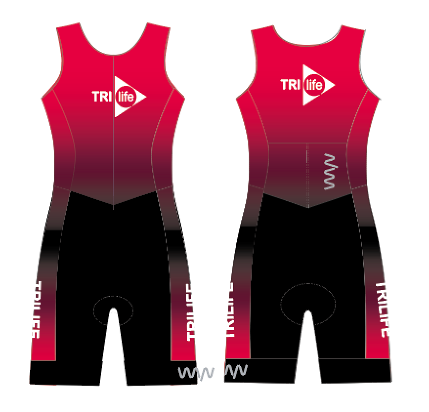 tri life sleeveless triathlon suit - women's
