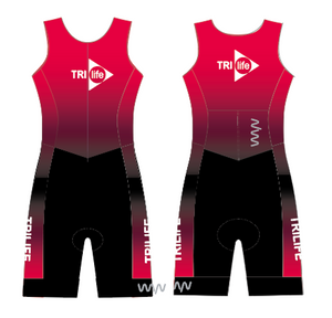 tri life sleeveless triathlon suit - men's