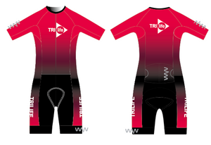 tri life aero+ sleeved triathlon suit - women's