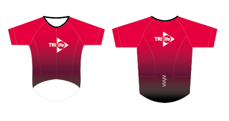 tri life aero+ sleeved triathlon top - men's