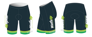 watts multisport aero+ triathlon shorts - men's