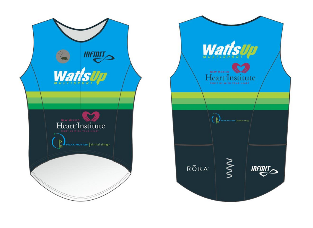 watts mutlisport triathlon top - men's