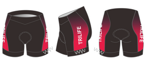 tri life hipster triathlon shorts - women's