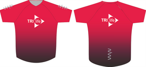 tri life running tech tee - men's