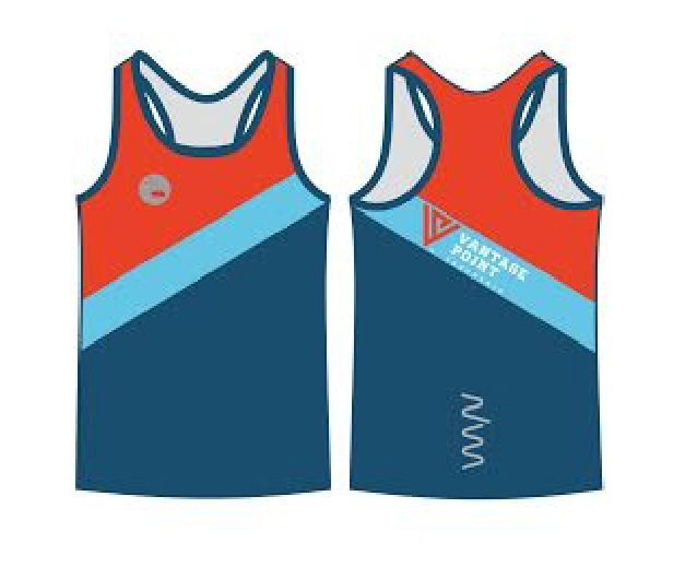 MEN'S - Vantage Point Endurance running singlet