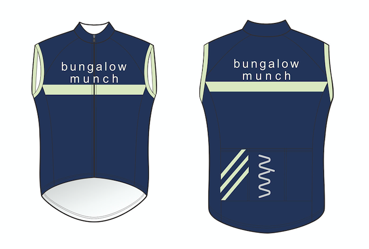 Bungalow Munch windstopper gilet (second edition) - unisex