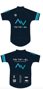 Tri Travel 2020 premium cycling jersey - women's