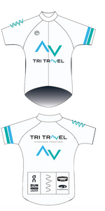 Tri Travel TDF staff premium cycling jersey - men's