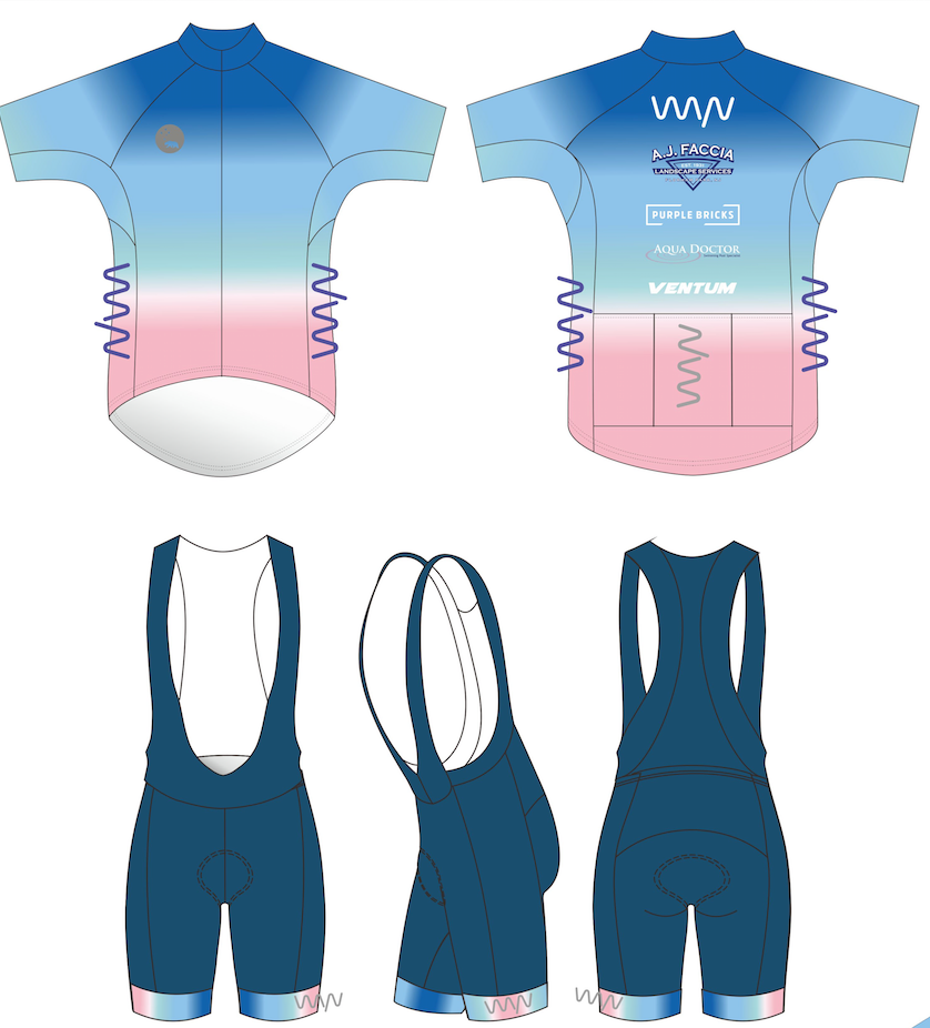 WYN x BERMUDA cycling kit (jersey + bib shorts) - men's
