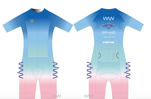 WYN x BERMUDA  aero+ triathlon suit - men's