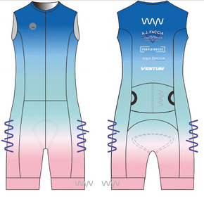 WYN x BERMUDA men's sleeveless triathlon suit