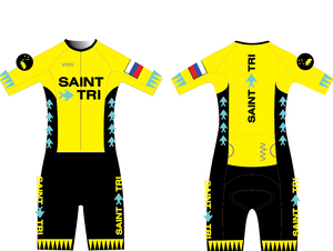 Saint Tri Custom Aero+ Tri Suit 3.5 (hex sleeve)2021