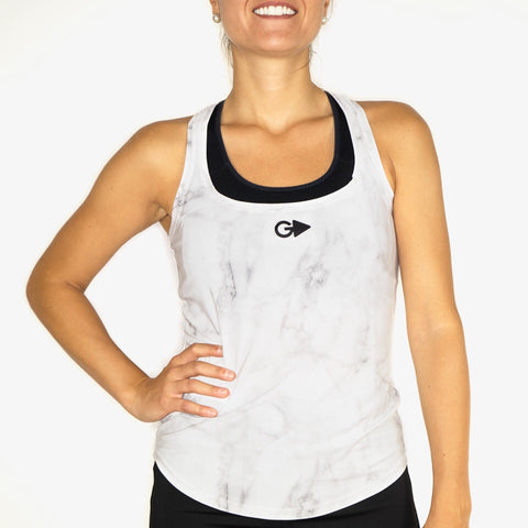 Camiseta mujer iris marble4 hard edition GPLAYERS