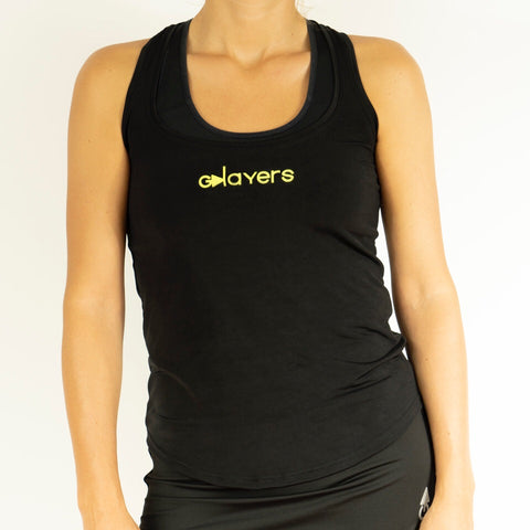 Camiseta mujer iris black edition tiger GPLAYERS
