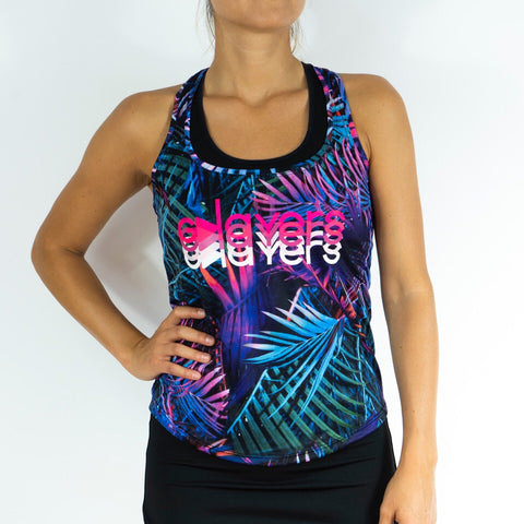 Camiseta mujer iris palm1 evolution edition GPLAYERS