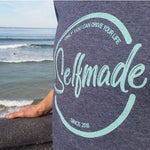 Camiseta selfmade heather navy