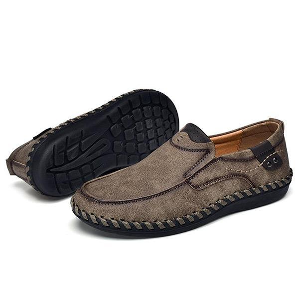 Men Leather Breathable Moccasins Loaferssecond -30% By Codebts30 Shoes