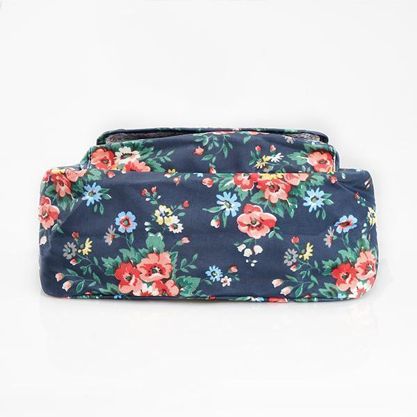 Waterproof Flowers Printing Shoulder Handbags Women Bags Luggages