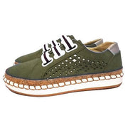 Women Hollow Out Round Toe Leisure Flats Shoessecond -30% By Codebts30 135331 Green / Us 4 Shoes
