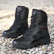 Mens Boots Wear-resisting Non-slip Army Boots Men Waterproof Outdoor Climbing Hiking Boots 114567