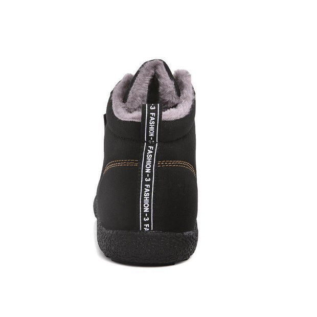 Women Autumn Winter Female Water-Resistant High-Top Cotton Shoes