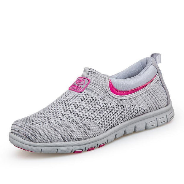 Female Walking Non-Slip Soft Bottom Health And Safety Shoes 116148 Grey / Us 5 Women