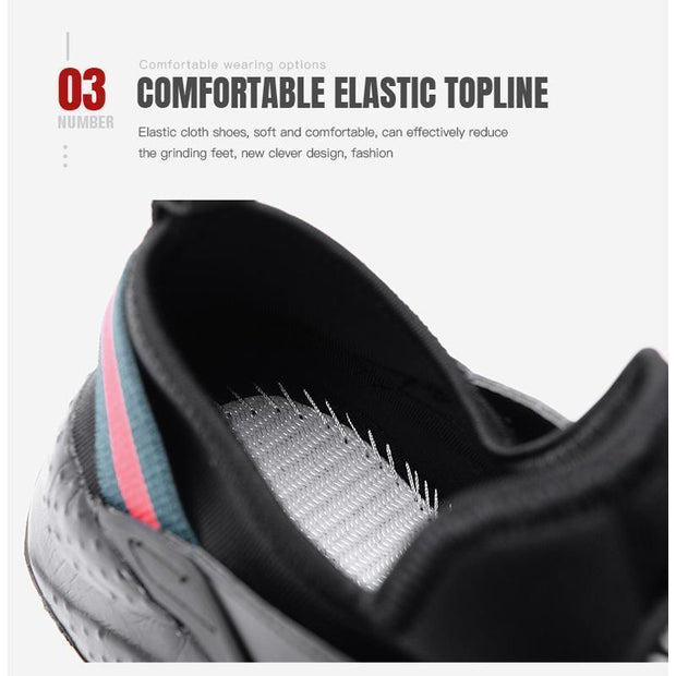 Women Large Size Couple Sports Breathable Shoes