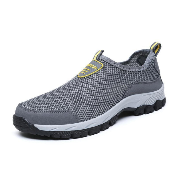 Mens One Foot Outdoor Mesh Handmade Shoes 116434 Gray / Us 6.5 Men Shoes