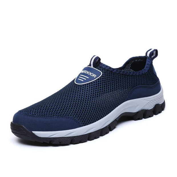 Mens One Foot Outdoor Mesh Handmade Shoes 116434 Blue / Us 6.5 Men Shoes