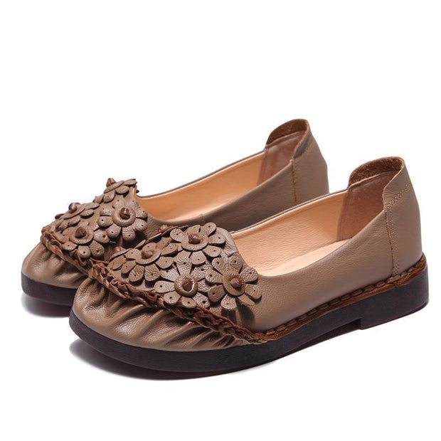 Women Flat Sole Antique Slippers Shoes