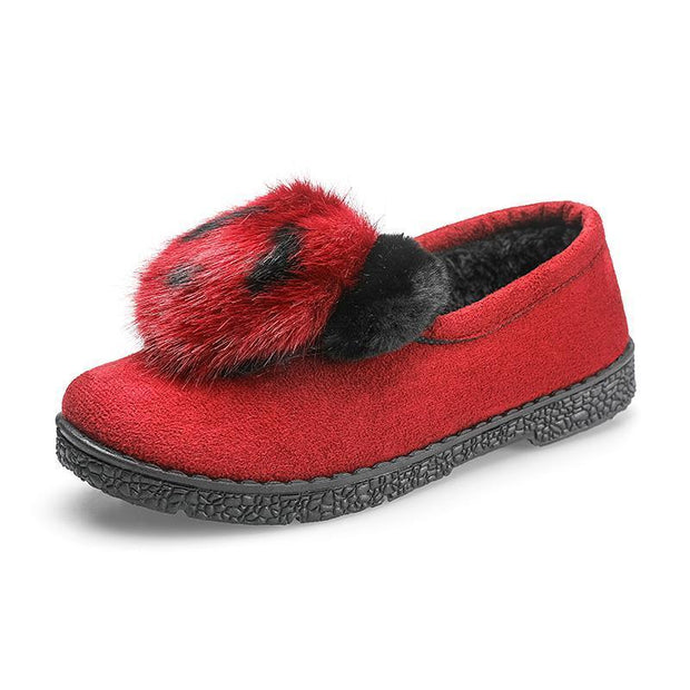 Ladies Warm Casual Shoes 116770 Red / Us 4 Women Shoes