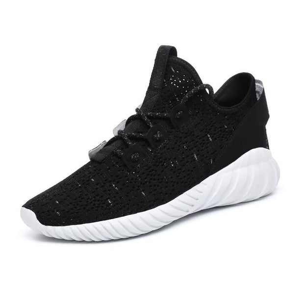 Mens Hollow Sports Leisure Flying Woven Shoes 116991 Black White / Us 7 Men Shoes
