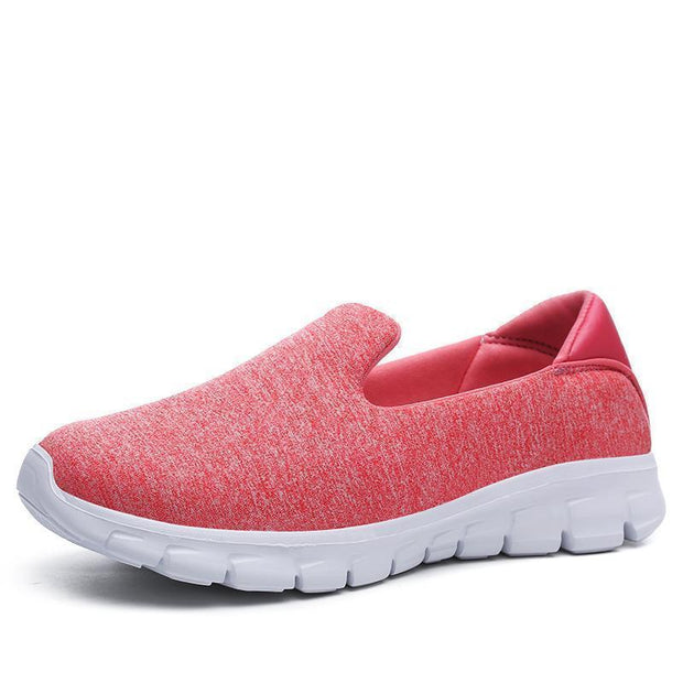 Women Breathable Slip-On Sneakers 117254 Pink / Us 5 Shoes