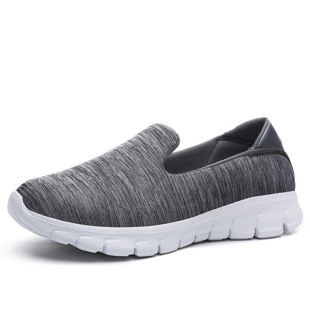 Women Breathable Slip-On Sneakers 117254 Dark Gray / Us 5 Shoes