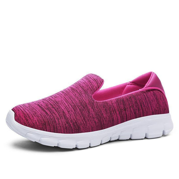 Women Breathable Slip-On Sneakers 117254 Peach Blossom / Us 5 Shoes