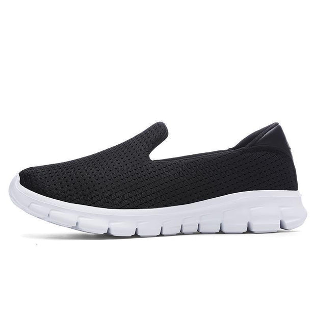 Women Breathable Slip-On Sneakers 117254 Black / Us 5 Shoes