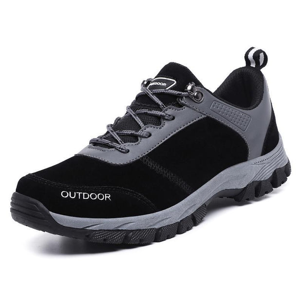 Mens Outdoor Sports Hiking Shoes 117328 Black / Us 7 Men Shoes
